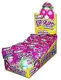 Easter Bunny Lip Pop Lollipops Candy Basket Stuffers, 0.8 oz, Case of 12
