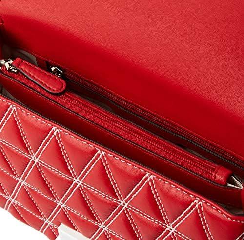 MICHAEL Michael Kors Sloan Logo Studded Large Chain Shoulder Bag, Bright Red g4v1vKdR