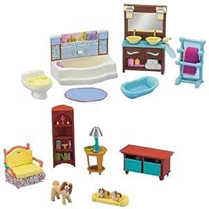 Amazon Fisher Price Loving Family Dollhouse Living