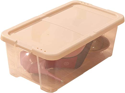 Z@SS Caja de Zapatos de Almacenamiento para Mujeres y Hombres Caja de Almacenamiento de Zapatos Contenedor de Zapatos apilable Plegable de plástico-6 Pack,d: Amazon.es: Hogar