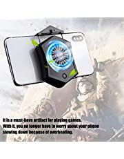4000 Rpm Fan, Games Phone Cooler, Built-in 500mA Cooler, Phone Cooler Fan, With Data Cable USB Phone Cooler for Playing Games Protect Mobile Phone