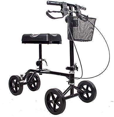 Amazon.com: witlucky rodilla rodillo andador Muleta ...