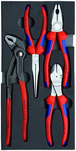 Knipex 00 20 01 V01基本ペンチセット( 4 Piece ) by Knipexツール B01MRNYN45