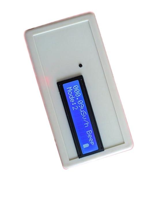 uuni-wt Handheld nuclear detector de radiación Geiger 2-Digit contadores mármol dosis de