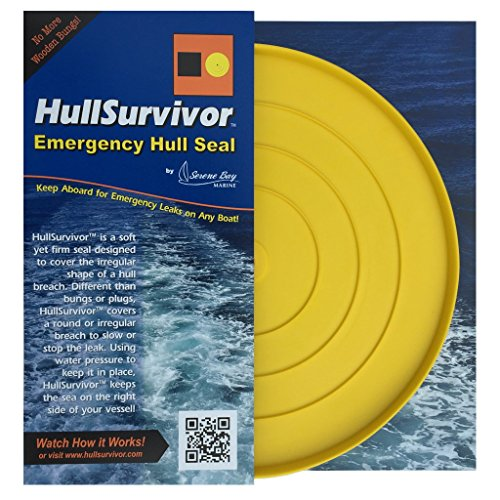 Serene Bay Marine HullSurvivor Emergency Hull Seal - 10 Inch Diameter