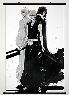 Wall Scroll Poster Fabric Painting For Anime BLEACH Kurosaki Ichigo Zengets 324 L