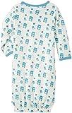 Babysoy Organic Pattern Kimono Bundler, Blue