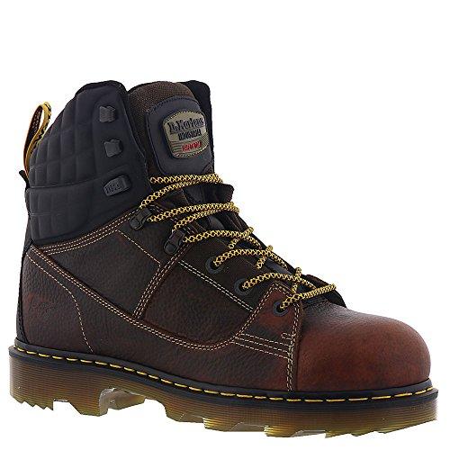 M Teak 11 Martens 8 Safety Toe Mens Dr UK 10 F Boot Black M D US Camber Tie vwqxa81