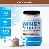 Bodybuilding Signature 100% Whey Protein Powder | 25g of Protein per Serving (Chocolate, 5 Lbs)