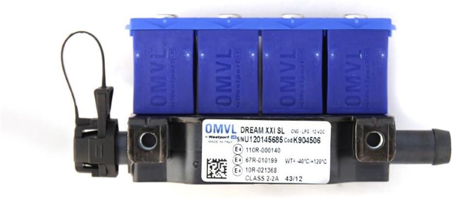 OMVL 904502-4CYL Injectors Rail without Temperature Sensor