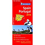 Spain & Portugal 2018 National Map 734 (Michelin National Maps)