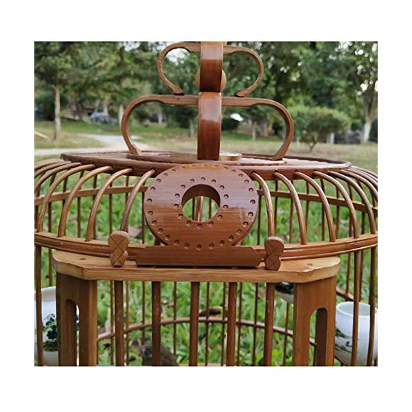 ZRZJBX Bird Cage/Aviary/Bamboo/Throstle, Starling Are Applicable, Complete With Standard Accessories,L