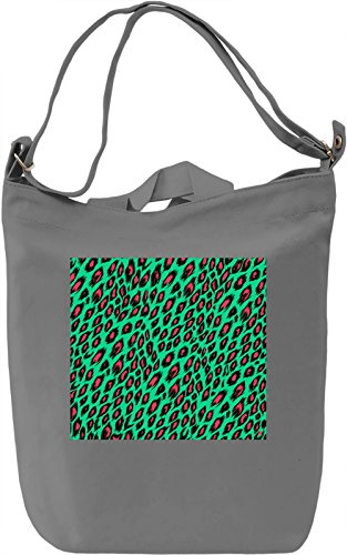 Animal Print Pattern Full Print Borsa Giornaliera Canvas Canvas Day Bag| 100% Premium Cotton Canvas| DTG Printing|