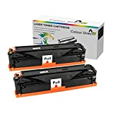 2 X Colour Direct Compatible Toner Cartridge Replacement For Brother TN1050 - DCP-1510 DCP-1512 DCP-1610W DCP-1612W HL-1110 HL-1112 HL-1210W HL-1212W MFC-1810 MFC-1910 MFC-1910W Printers