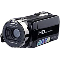 Miaomiaogo HDV-312P HD Video Camera 16X Digital Zoom 1080P 270 Degree Rotation LCD Digital Camcorder US Plug