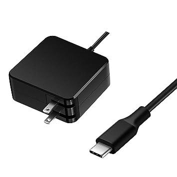 Amazon.com: 65 W Cargador de CA Cable de alimentación para ...