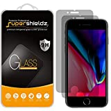 (2 Pack) Supershieldz for Apple iPhone 8 Plus and iPhone 7 Plus (Privacy) Anti Spy Tempered Glass Screen Protector, Anti Scratch, Bubble Free