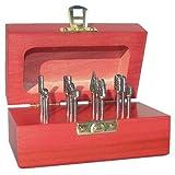 Monster Tool - 310-120016 - Carbide Bur Set, Double Cut, 9 piece