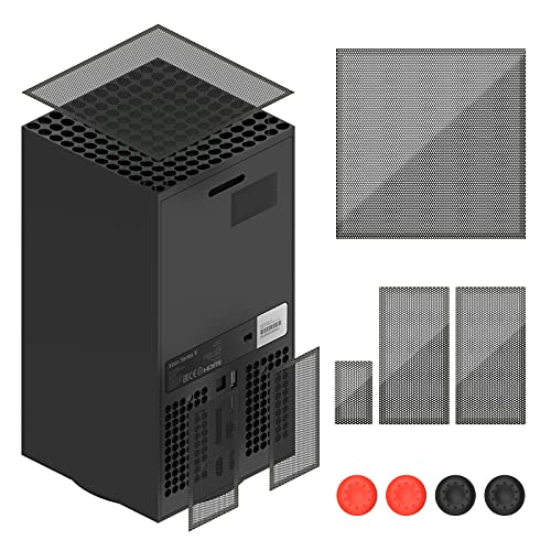 filtros de polvo para xbox series x (2 pack)