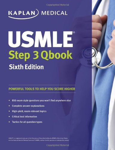 USMLE Step 3 QBook (USMLE Prep)SIXTH EDITION