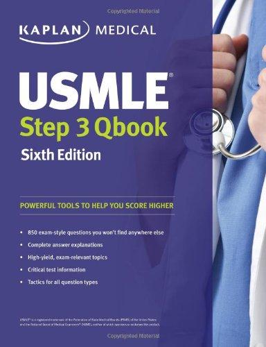 USMLE Step 3 QBook (USMLE Prep) SIXTH EDITION