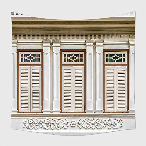 Home Decor Tapestry Wall Hanging Sino Portuguese Architecture Of Many The Buildings In Phuket Town These Old Buildings Have Been 258914009 For Bedroom Living Room Dorm