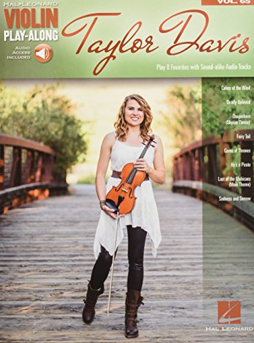 (Taylor Davis: Violin Play-Along Volume 65 (Hal Leonard Violin Play-along))