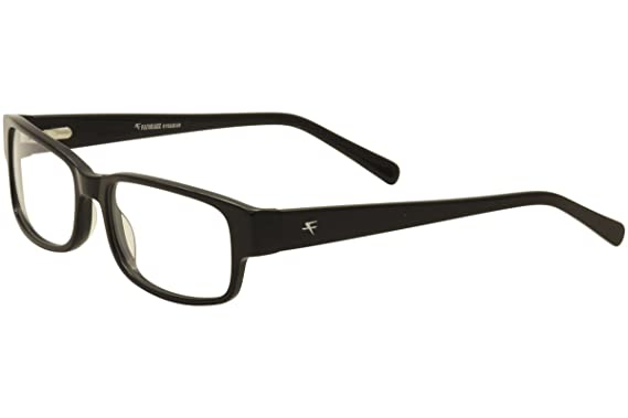 Amazon.com: Fatheadz Jaxsonian FH0041 Wide Eyeglasses Large Black ...