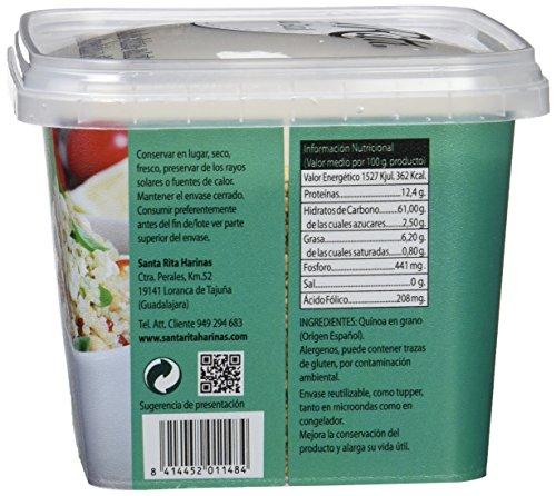 Santa Rita Quinoa Integral Grano - 6 Paquetes de 250 gr - Total ...