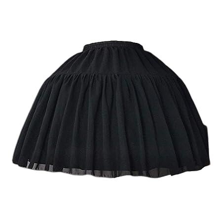 BINGHONG3 Falda Corta para Cosplay de Espina de Pescado Lolita ...
