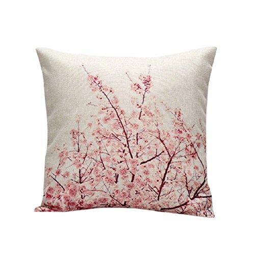 Ikevan Cotton Linen Decorative Throw Pillow Case Cushion Cover Home Decor 18
