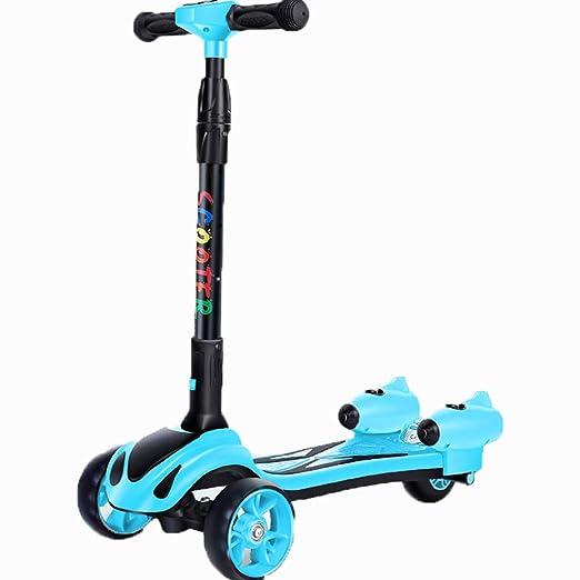 ZSH-Kick Scooter Patinete Plegable para niños, 3 patinetes ...