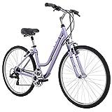 "Diamondback Bicycles 2016 Women's Vital 2 Complete Hybrid Bike, Light Purple, 15"" Frame"