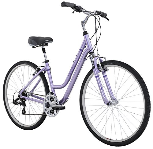 Review Diamondback Bicycles 2016 Women's Vital 2 Complete Hybrid Bike