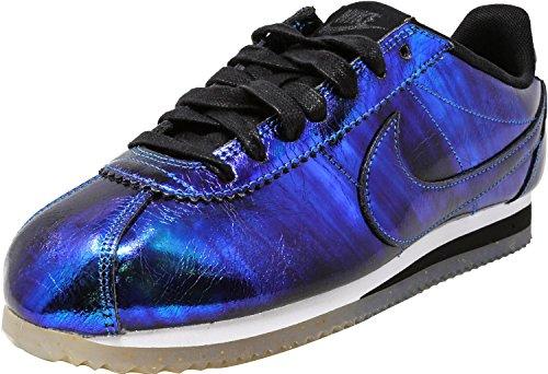 Nike donna Classic black Soar Nylon Cortez Sneaker Soar white wTwFq
