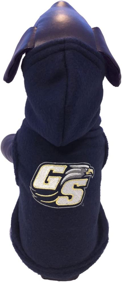 NCAA Georgia Southern Eagles Sleeveless Polar Fleece Dog Sweatshirt
