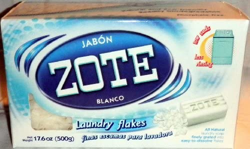 Jabon Zote Finas Escamas Para Lavadora All Natural Laundry Flakes ...