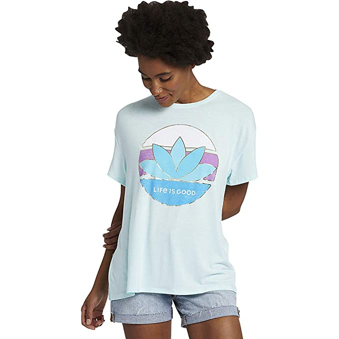 Life is Good Women's LIG Sunrise Favorite Slouchy Tee at