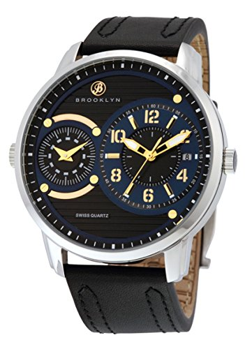 Dual Time Swiss (Brooklyn Willoughby Dual Time Swiss Quartz Watch)