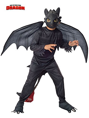 Rubie's How to Train Your Dragon 2 Night Fury Costume, Child -