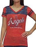 Womens LA Angels Athletic Short Sleeve T-Shirt (Vintage Look)