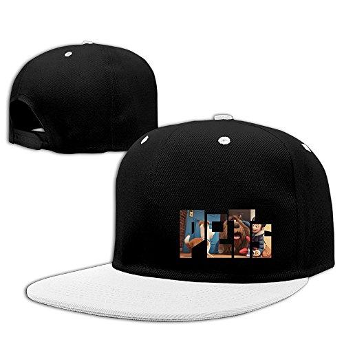White 3d Campus Adjustable Hat - 6