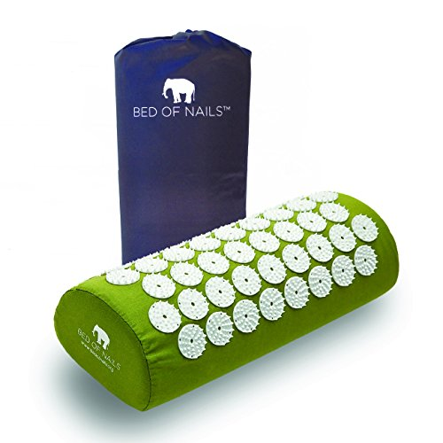 Bed of Nails, Green Original Acupressure Pillow for Neck/Body Pain Treatment, Relaxation, Mindfulness by Bed of Nails (Image #5)