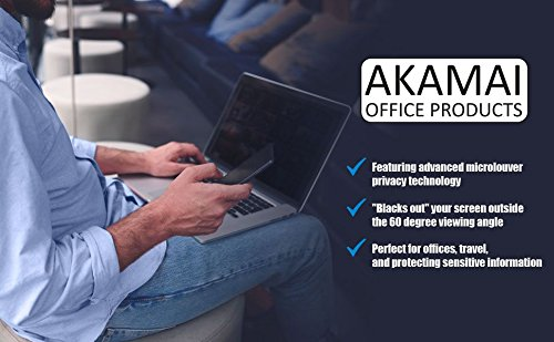 Akamai Office Products 15.6 Inch (Diagonally Measured) Privacy Screen Filter for Widescreen Laptops Anti Glare by Akamai Office Products (Image #2)
