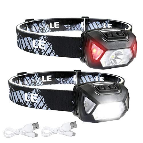 LED Headlamp Flashlights Rechargeable