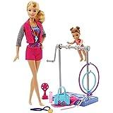 Barbie Gymnastic Coach Dolls and Playset