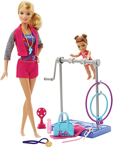 Barbie Gymnastic Coach Dolls