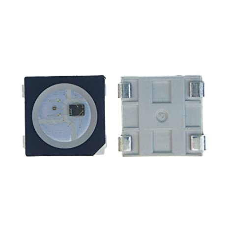 new product 7be75 1f8e5 ALITOVE 100pcs WS2812B 4 PIN WS2812 5050 RGB LED Chip SMD ...