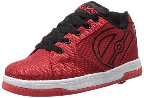 Heelys Boys' Propel 2.0 Sneaker, Red/Black, 6 M US Big Kid