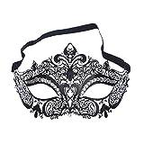 TIFENNY New Elegant Metal Laser Cut Venetian Halloween Ball Masquerade Luxury Mask